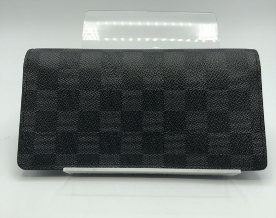 LOUIS VUITTON ポルトフォイユ・ブラザ ダミエ・グラフィット N62665 買取しました!