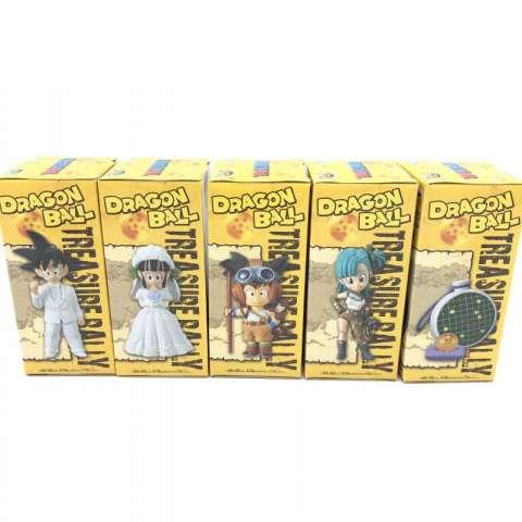 WCF ドラゴンボール トレジャーラリー 四星球&ドラゴンレーダーver. 全5種セット 買取しました!
