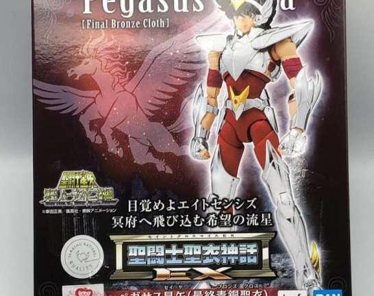 聖闘士聖衣神話EX ペガサス星矢(最終青銅聖衣) 買取しました!