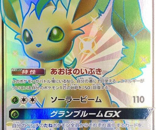 ポケモンカードゲーム SSR リーフィアGX(206/150) 買取しました!