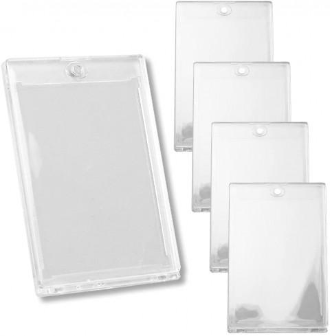 トレカケース カードローダー 収納 保管 傷防止 入れ替え簡単 ディスプレイ 梱包用 (5個セット クリア)