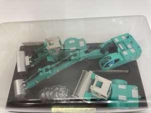 トイコーのミニコンストラクション3種セット 買取しました!
