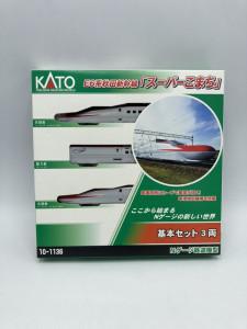 1/160 E6系秋田新幹線 スーパーこまち 3両基本セット 買取しました!
