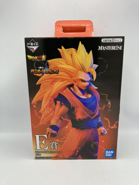 超サイヤ人3孫悟空 「一番くじ ドラゴンボール VSオムニバス」 MASTERLISE E賞 フィギュア 買取しました!