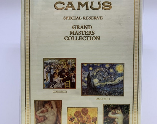CAMUS SPECIAL RESERVE GRAND MASTERS COLLECTION  RENOIR ブック 700ml 買取しました!