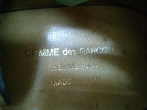 COMME des GARCON スタッズシューズ-3