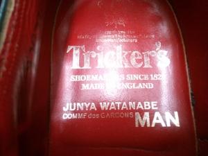 Tricker's×JUNYA WATANABE ブーツ-2