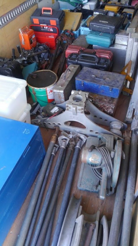 大量の工具類を出張買取させて頂きました!!