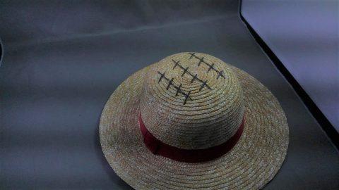 ワンピース ルフィの麦わら帽子を出張買取させて頂きました。