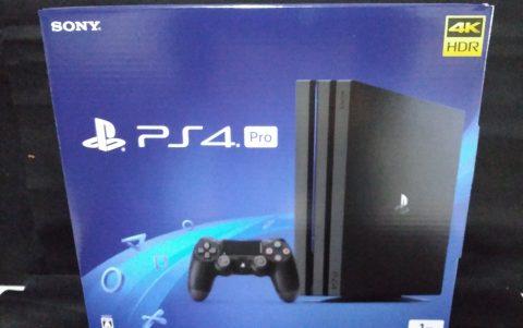 SONY PS4 pro 1TB を出張買取させて頂きました!